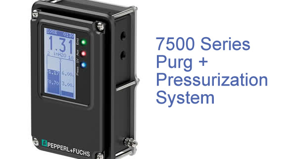Pepperl Fuchs 7500 purge and pressurization system