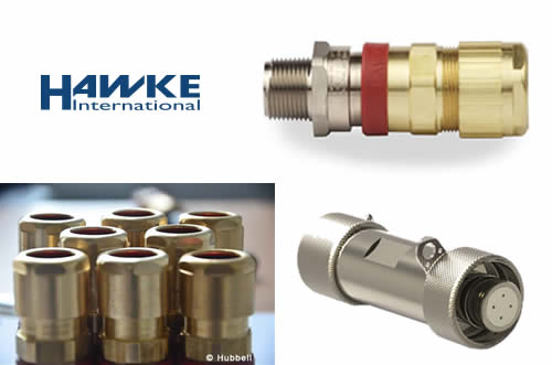 New Hawke Cable Glands